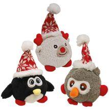 Χριστουγεννιάτικο Λούτρινο Ζωάκι Πιγκουίνος 14cm