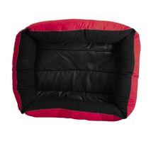 Κρεβατάκι Πουφ Κόκκινο 50x40x15cm