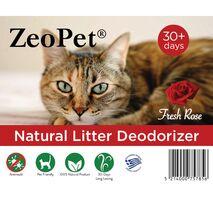 Ζεόλιθος Απόσμησης ZeoPet με Άρωμα Τριαντάφυλλο 500gr