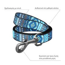 Collar Οδηγός Waudog Etno Blue