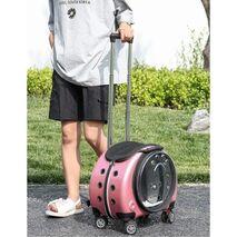 Τσάντα μεταφοράς για Κατοικίδια Ροζ 44x37.5x35cm
