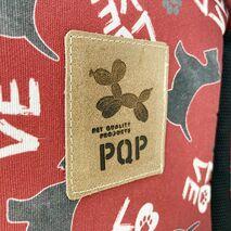 PQP Τσάντα Μεταφοράς Για Καμπίνα Αεροπλάνου Μαλακή Υφασμάτινη Σχέδιο LOVE 47x30x27 cm