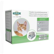 PetSafe ScoopFree Αυτοκαθαριζόμενη Τουαλέτα Γάτας 2ης Γενιάς με Ενσωματωμένη Οθόνη Υγείας