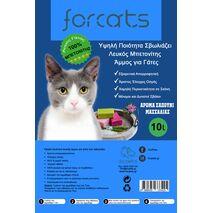 Άμμος Γάτας Forcats από Μπετονίτη με Άρωμα Σαπούνι Μασσαλίας
