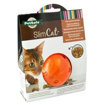 SlimCat Παιχνίδι - Ταΐστρα για Γάτα Πορτοκαλί