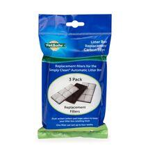 PetSafe Ανταλλακτικό (3ΤΜΧ) Φίλτρο Άνθρακα για Simply Clean Τουαλέτα