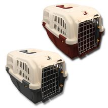 MPS Skudo IATA 1 Κλουβί Μεταφοράς Βυσσινί για Σκύλο 48x31.5x31cm