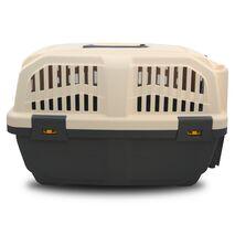MPS Skudo IATA 1 Κλουβί Μεταφοράς Γκρι για Σκύλο 48x31.5x31cm