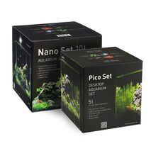Eπιτραπέζιο Ενυδρείο 22x22x22cm 10lt Nano Set