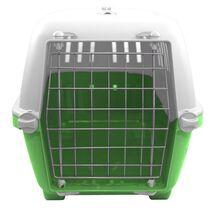 Κλουβί Μεταφοράς Σκύλου MPS Μεταλλικό Πορτάκι Πράσινο 48x31.5x33cm