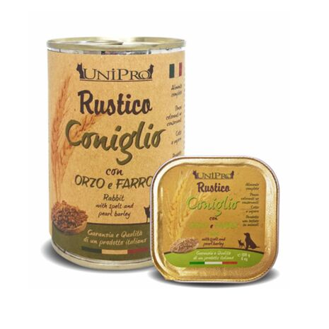 Rustico Italian Κουνέλι Κριθάρι