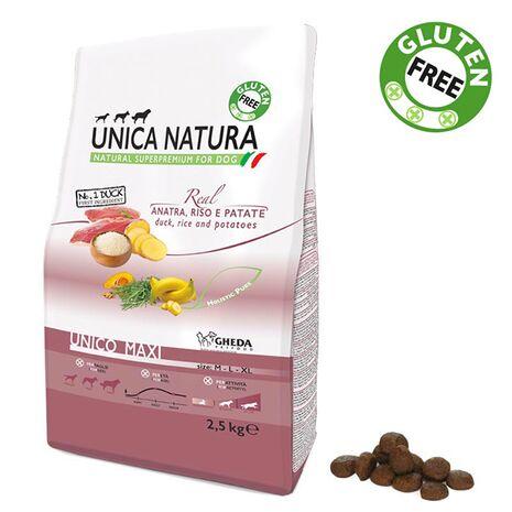 UNICA NATURA - Unico Maxi - Πάπια, Ρύζι και Πατάτες | Ξηρά Τροφή 12kg