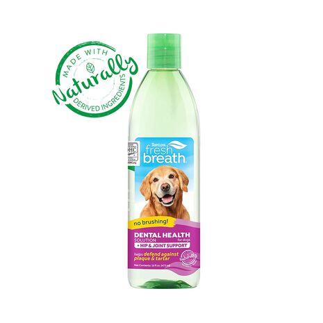 Tropiclean Fresh Breath Dental Health Hip & Joint Support 473ml για σκύλους
