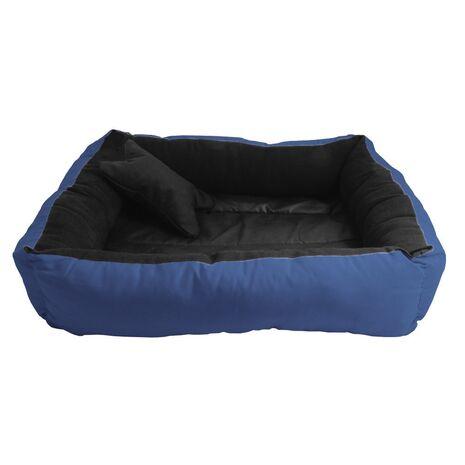 Κρεβατάκι Πουφ Σκούρο Μπλε