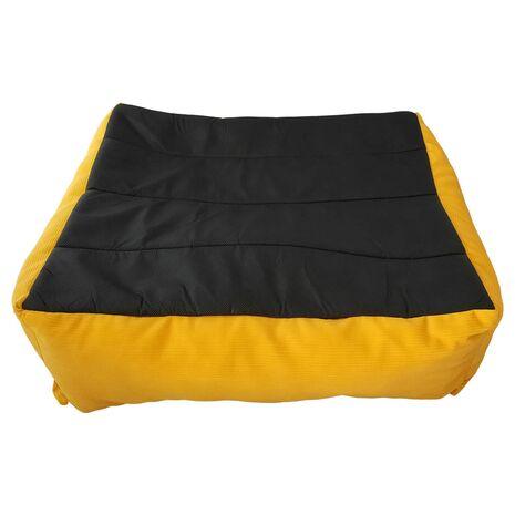 Κρεβατάκι Πουφ Κίτρινο