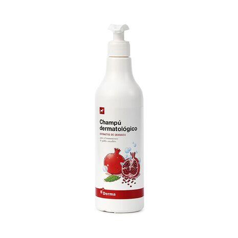 Champu Dermatologico - Δερματολογικό Σαμπουάν με Ρόδι 500ml