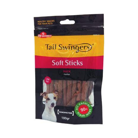 Pet-Interest Tail Swingers Soft Sticks Πάπια 100g
