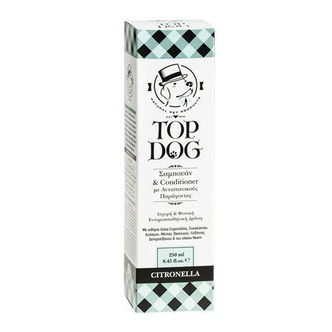 Top Dog Citronella Σαμπουάν & Conditioner Εντομοαπωθητικό 250ml