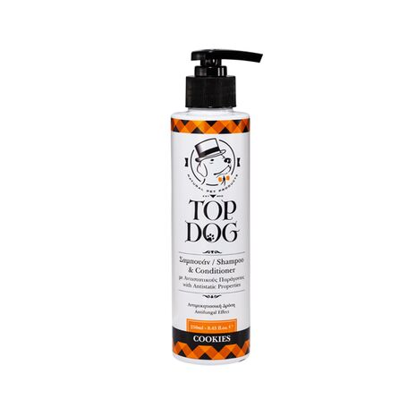 Top Dog Cookies Σαμπουάν και Conditioner Αντιμυκητιασική Δράση 250ml