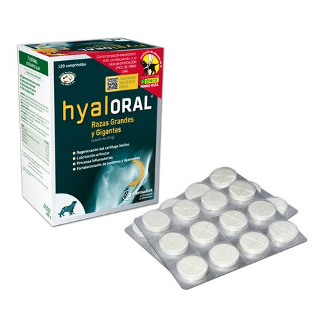Pharmadiet Hyaloral Οστεοαρθρίτιδα Δυσπλασία άνω των 20kg 12 Τabs