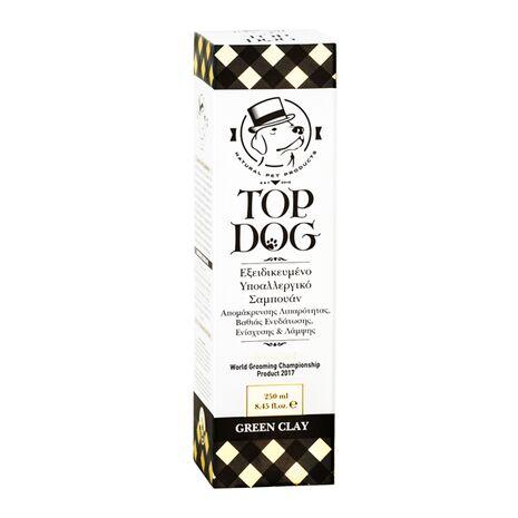 Top Dog Green Clay Σαμπουάν Υποαλλεργικό 250ml