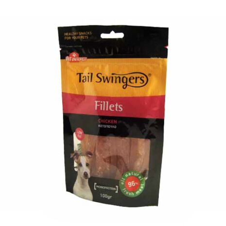 Pet-Interest Tail Swingers Fillets Κοτόπουλο 100g