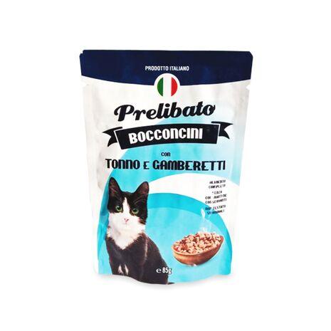 Prelibato Τόνο και Γαρίδες 85gr