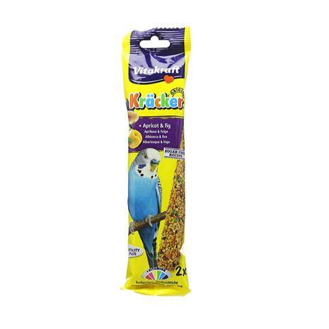 Vitakraft Κράκερς για Παπαγάλους με Βερίκοκο & Σήκο 60gr