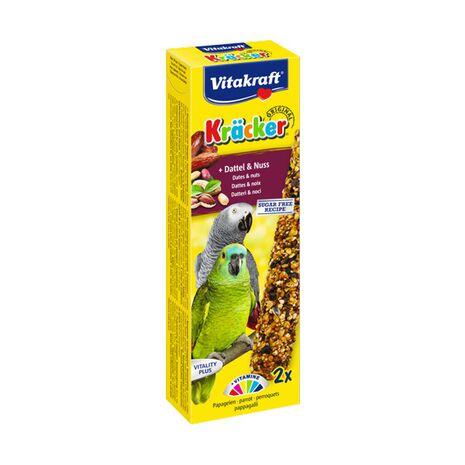 Vitakraft Κράκερ για Παπαγάλους με Χουρμάδες και Καρύδια 180gr