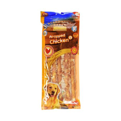 Nobby Star Snack Barbecue Wrapped Chicken, Large