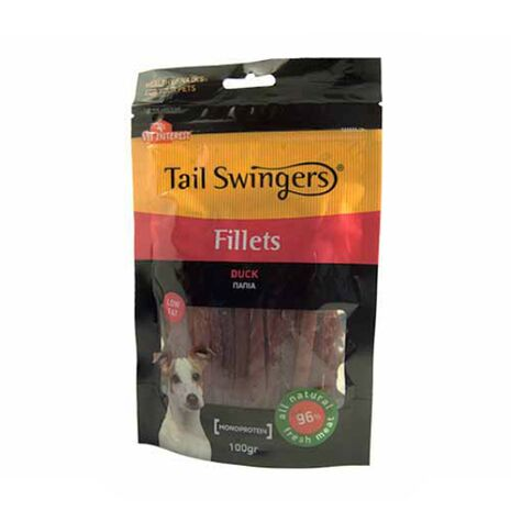 Pet-Interest Tail Swingers Fillets Πάπια 100g