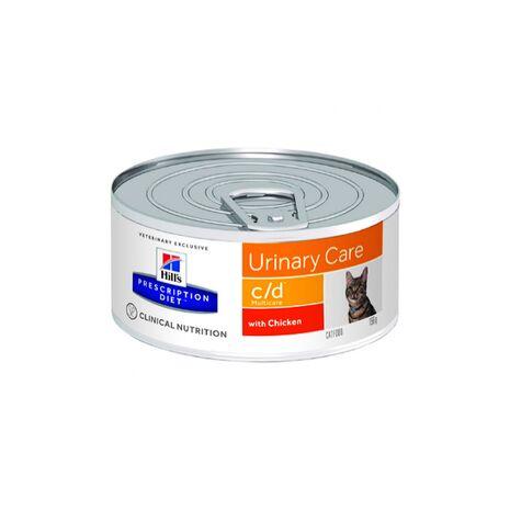 Κονσέρβα Hill's Urinary Care c/d Multicare Chicken 156gr