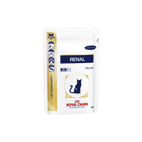 Υγρή Τροφή - Φακελάκι Royal Canin Renal With Chicken 85gr