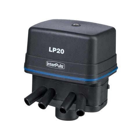 InterPuls LP20 24VDC Ηλεκτρονικός Παλμοδότης 4 Έξοδοι με Φίλτρο
