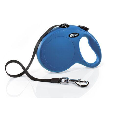 Flexi New Classic με Ιμάντα L 5m - 50kg Μπλε
