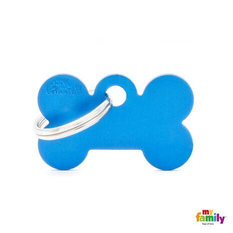 My Family Ταυτότητα Μπλε Μικρή σε Σχήμα Κόκκαλο