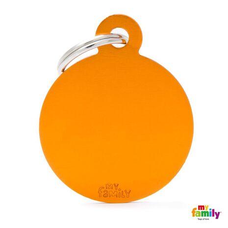 My Family Ταυτότητα Πορτοκαλί Μεγάλη Κυκλική