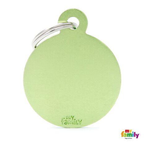 My Family Ταυτότητα Πράσινη Μεγάλη Κυκλική