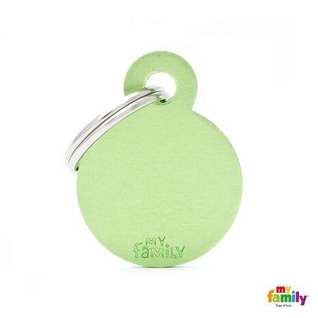 My Family Ταυτότητα Πράσινη Μικρή Κυκλική