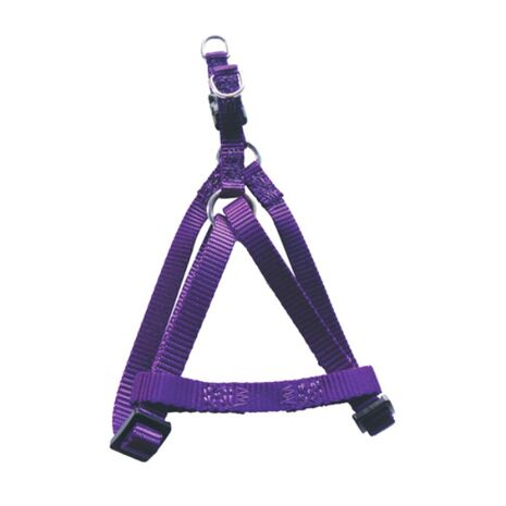 Pet-Interest Σαμάρι L Standard Harness A Type Μωβ 2,5x50-75cm