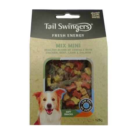 Pet-Interest Tail Swingers Mini Mix   Κοτόπουλο Βοδινό Αρνί Σολομό 125gr