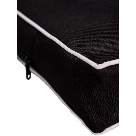 Στρώμα Αδιάβροχο Ύφασμα Oxford PVC Μαύρο