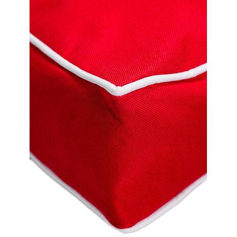 Στρώμα Αδιάβροχο Ύφασμα Oxford PVC Κόκκινο