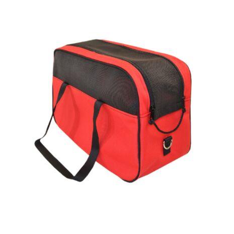 Τσάντα Μεταφοράς Αδιάβροχη με Δίχτυ Κόκκινη