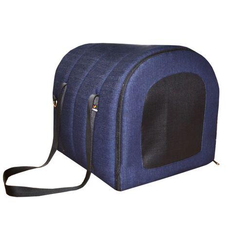 Τσάντα Μεταφοράς Σπιτάκι Μαλακή από Αφρολέξ Μπλε Τζιν