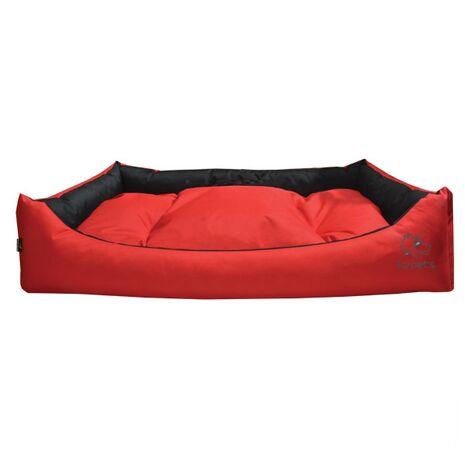 Καναπές Υπερμέγεθος Αδιάβροχος με Μαξιλάρι Κόκκινο 120x80x30cm