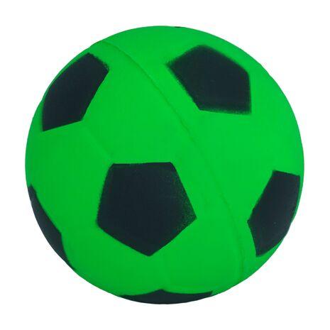 Σκληρό Μπαλάκι Για Κατοικίδια Ποδοσφαίρου Ποδοσφαίρου - Μαύρο 5,5cm
