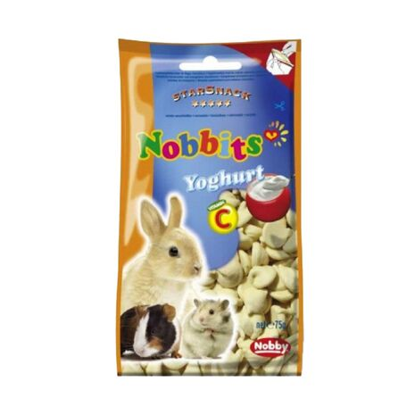 Nobby StarSnack Nobbits Yoghurt Vitamin C 75gr