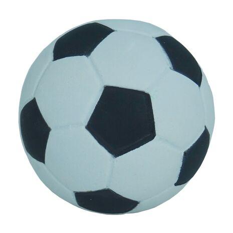 Σκληρό Μπαλάκι Για Κατοικίδια Ποδοσφαίρου Άσπρο - Μαύρο 5,5cm