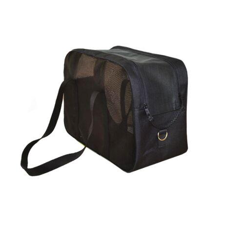 Τσάντα Μεταφοράς Αδιάβροχη Διάτρητη Μαύρο